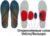 Стельки ортопедические, регулируемые для хоккейных ботинок